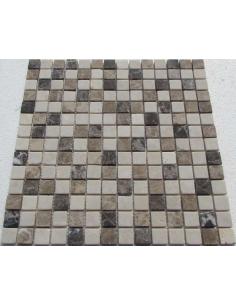 Каменная мозаика Mix Emperador 20-6T