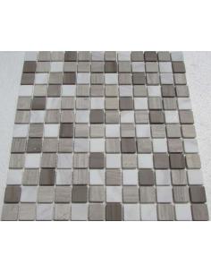 Mix Dark Grey 23-4T каменная мозаика