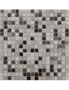 Dark Wooden 15-4P каменная мозаика