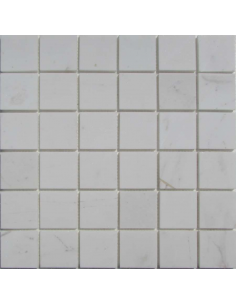 Dolomiti Bianco 48-6P каменная мозаика