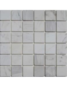 Dolomiti Bianco 48-6T каменная мозаика