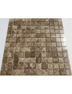 Emperador Light 23-4P каменная мозаика