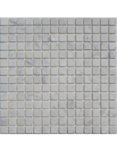 Bianco Carrara 20-4T каменная мозаика