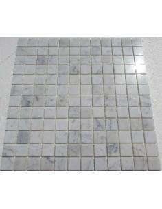 Bianco Carrara 23-4P каменная мозаика