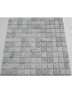Bianco Carrara 23-4T каменная мозаика