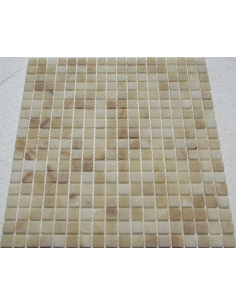 Caramel Onyx 15-4T мозаика из оникса