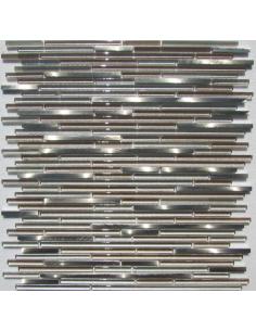 H5419 мозаика из стекла и алюминия