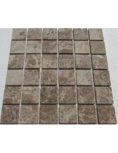 Emperador Light 48-6T каменная мозаика