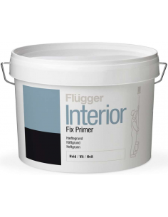 Flugger Interior Fix Primer White 0,75л акриловый адгезионный грунт