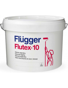 Flugger Flutex 10 satin base 3 9,1л акриловая матовая краска