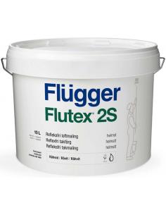 Flugger Flutex 2S matt white 10л ПВА - модифицированная латексная краска
