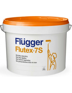 Flugger Flutex 7S satin base 4 9,1л ПВА - модифицированная латексная краска