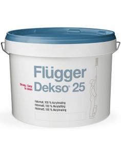 Flugger Dekso 25 base 1 0,75л 100% - акриловая полуматовая краска