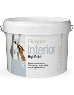 Flugger Interior High Finish 5 white 0,75л матовая акриловая краска - грунт