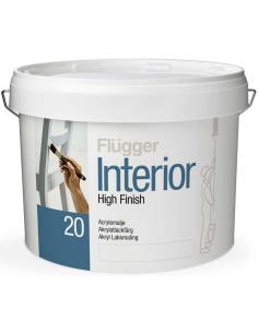 Flugger Interior High Finish 20 base 4 0,7л акриловая полуматовая эмаль
