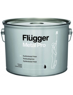Flugger Metal Pro Anti-corrosive Primer white 3л антикоррозионный алкидный грунт