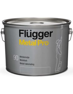 Flugger Metal Pro Metal Enamel base 4 2,8л алкидная эмаль по металлу