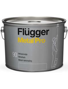 Flugger Metal Pro Metal Enamel base 4 0,75л алкидная эмаль по металлу