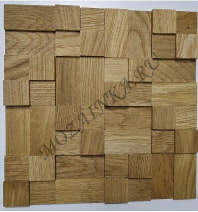 Кантри Дуб деревянная 3Д мозаика, покрыта маслом Borma