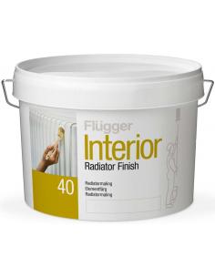 Flugger Interior Radiator Paint base 1 0,75л акриловая краска для радиаторов
