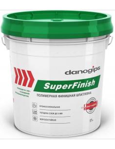 Sheetrock Danogips SuperFinish 28кг готовая полимерная шпатлевка