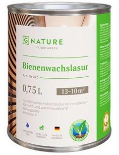 471 Bienenwachslasur weiß 0,375л лазурь с пчелиным воском, белая
