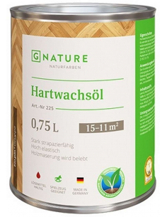 Gnature 255 Hartwachsöl масло с твёрдым воском 0,375л