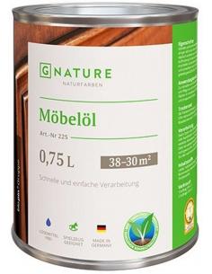 Gnature 225 Möbelöl масло для мебели 0,375л
