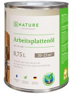 Gnature 220 Arbeitsplattenöl масло для столешниц 0,75л