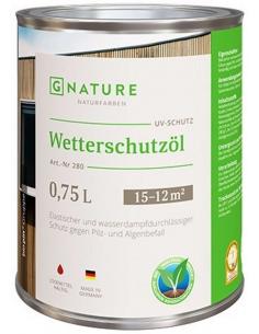 280 Wetterschutzöl 10л защитное масло для внешних работ
