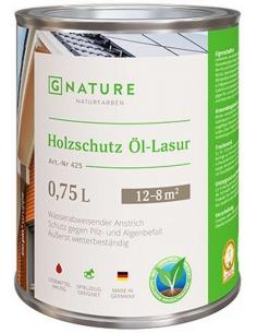 Gnature 425 Holzschutz Öl-Lasur масло-лазурь для дерева 0,375л