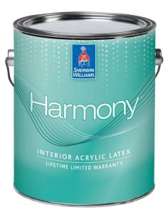 Sherwin-Williams Harmony моющаяся экстрабелая краска для стен 3,785л