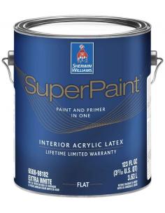SuperPaint Interior моющаяся краска для стен 3,785л