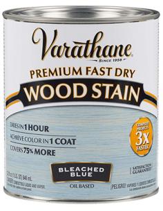 Varathane Выбеленный голубой масло для дерева 0,946л