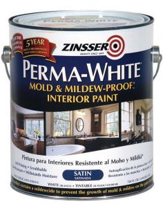 ZINSSER Perma-white Interior матовая краска 3,785л