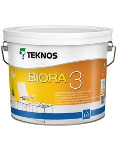 Teknos Biora 3 матовая краска-грунт для потолка 0,9л