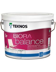 Teknos Biora Balance РМ1 матовая краска для стен и потолка 0,9л