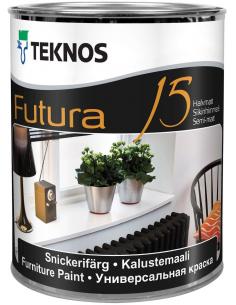 Teknos Futura 15 РМ1 универсальная уретано-алкидная краска 0,9л