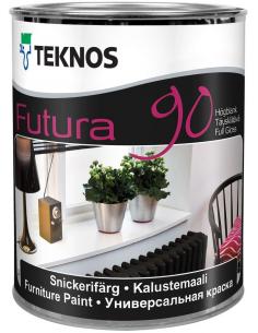 Teknos Futura 90 РМ1 универсальная уретано-алкидная краска 0,9л