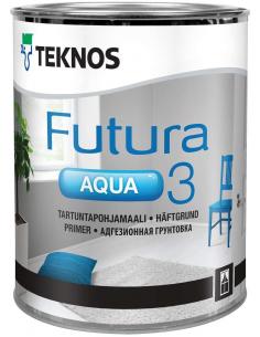 Teknos Futura Aqua 3 алкидная адгезионная грунтовка 2,7л