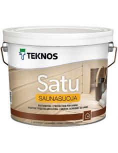 Teknos Satu Saunasuoja защитное средство для бани и сауны 9л
