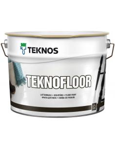 Teknos Teknofloor глянцевая уретано-алкидная краска для пола 0,9л