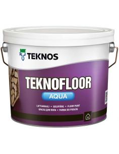 Teknos Teknofloor Aqua полуглянцевая акрилатная краска для пола 0,9л