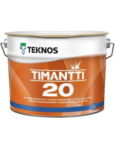 Teknos Timantti 20 полуматовая акрилатная краска для стен и потолка 0,9л