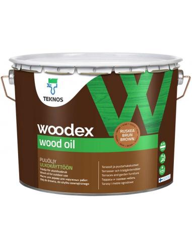 Teknos Woodex Wood Oil масло для дерева 9л