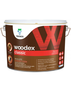 Teknos Woodex Classic лессирующий антисептик для дерева 0,9л