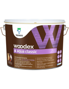 Teknos Woodex Aqua Classic лессирующий антисептик для дерева 2,7л