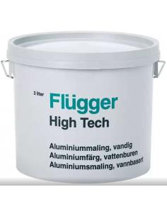 Flugger High Tech Aluminium 3л краска для металла
