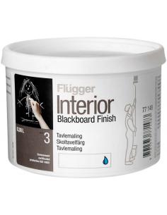 Flugger Interior Blackboard Finish 0,38л грифельная краска с эффектом школьной доски