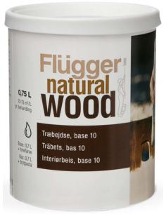 Flugger Natural Wood Stain 0,75л морилка / тонирующее масло для дерева